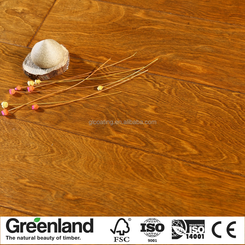 Waterproof wood flooring laminater antique parquet flooring for the bedroom indoor floor wooden