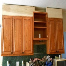 Kitchen Cabinet Type And Solid Wood Acrylic Door Panel Surface Treatment Modular Kitchen(sapiential )