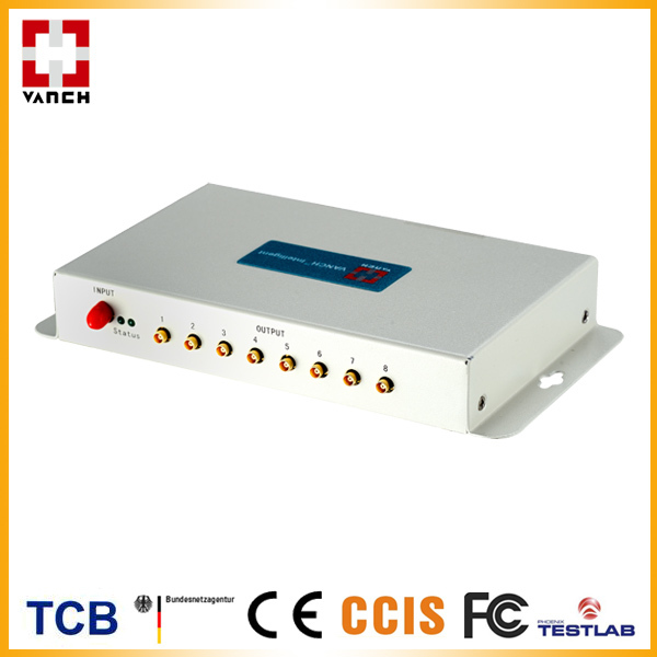 RFID 8 port antenna multiplexer for document/file tracking system