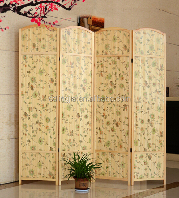 Hanging Wrought Iron Living Room Cabinet Folding Screen Room Divider