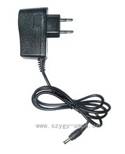 EUR plug in camera power adapter, 12v 1a outoput ,100~240v ac input