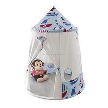 Pink princess castle play tent from factory