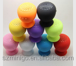 Mushroom Mini Wireless Bluetooth Speaker Waterproof Silicone Sucker Hands Free Speakers For Apple & Android