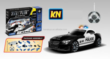 Newly toy assemble police blocks car modelpolice kids small toy cars model