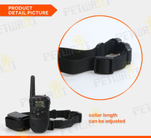 electric corrective collars for training pets, pet training products with big lcd