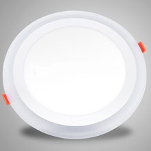 2016 New Design Recessed 2 in 1double color double ring LED Ceiling panel lights slim LED Panel Lights