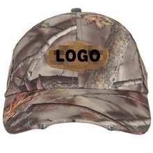 Outdoor Sport Leisure LED Flash Cotton Twill Panther Vision Camo Pow Baseball Cap