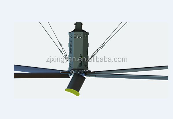 Hot sell Ceiling Mounted 1.5Kw Energy Saving Industrial Ceiling Fan