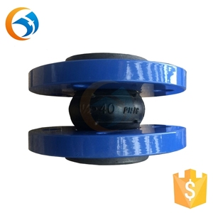 bellows flexible connection rubber pipe joint system
