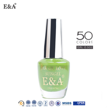 EA brand organic nail polish factory OEM 15ml private label nail polish