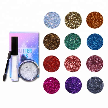 No brand Glitter Eyeshadow Loose Glitters Eyeshadow Powder Glitter Lipstick Wholesale
