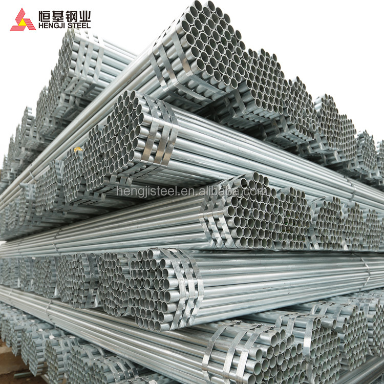 1.5inch galvanized round steel pipe/tube