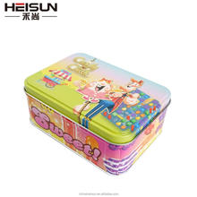 new design gift tin box candy tin box
