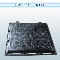 EN124 Casting ductile iron cast iron metal foundry price sand casted manhole covers