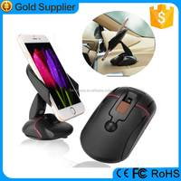 Special Design one touch mouse like portable sticky suction cup phone holder dashboard mount