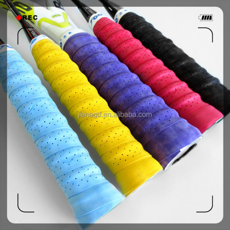Foam Strip Tennis or Badminton OverGrips / Accept Customized Size and Logo
