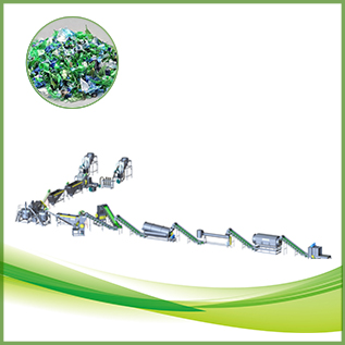 CE Approved pet bottle scrap cold washing machine PET recycling line