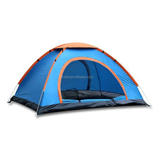 Waterproof double layers auto camping tent for 4 persons, pop up tent