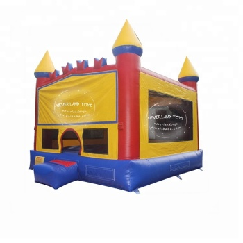 NEVERLAND TOYS Best Quality Hot Selling Cheap Used Commercial Inflatable-Modula Castle Bouncers Funny Trampoline For Sale