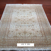 150 x 200cm pure silk 100% hand made persian tabriz carpets prices