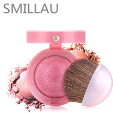 Natural long lasting glossy baked blusher