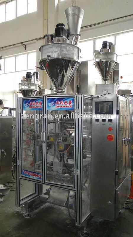 (VFSL5000F) Milk ,coffee ,ice cream powder packaging machine unit