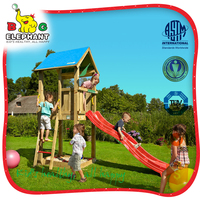 child playground wooden Jungle Castle