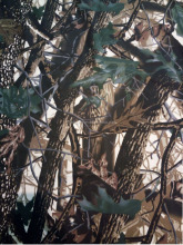 100% cotton waterproof fabric printed with Realtree camouflage