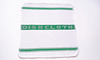 High quality 100% cotton jacquard green tea towel