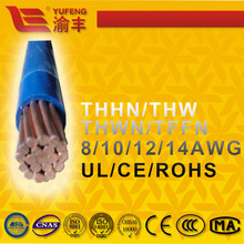 8AWG 10AWG Home Application UL/ROHS/ASTM THW/THWN/TFFN THHN
