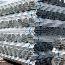 China manufacturer standard length of galvanized round pipe from china