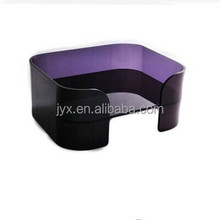 Fashion style comfortable custom lucite acrylic pet dog bed for home wholesale