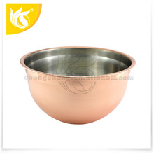 New Style Kitchware Salad Bowl for Storage Stainless Steel Mixing Bowl