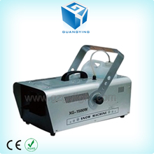 Customized DMX512 AC90v-220v adjustable 1500W snow making machine/ large output 1500w snow machine