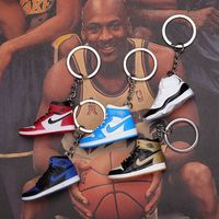 Factory New Design 3D Jordan Sneaker Shoes Keychain promotion gift for nike/yeezy/air jordan