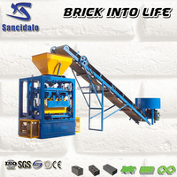 Brick machine with mixer machine Brick making machine plant to produce Building material bricks and blocks