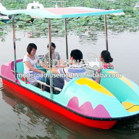 Manufacture water park rides tour paddle boats pool for sale
