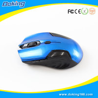 Ergonomic vertical wireless optical mouse