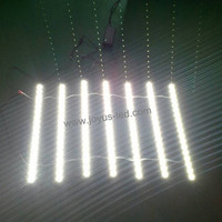 2835 smd led strip light rigid strip narrow 8mm dc12v