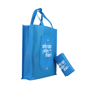 Customized folding non woven bag,foldable shopping bags