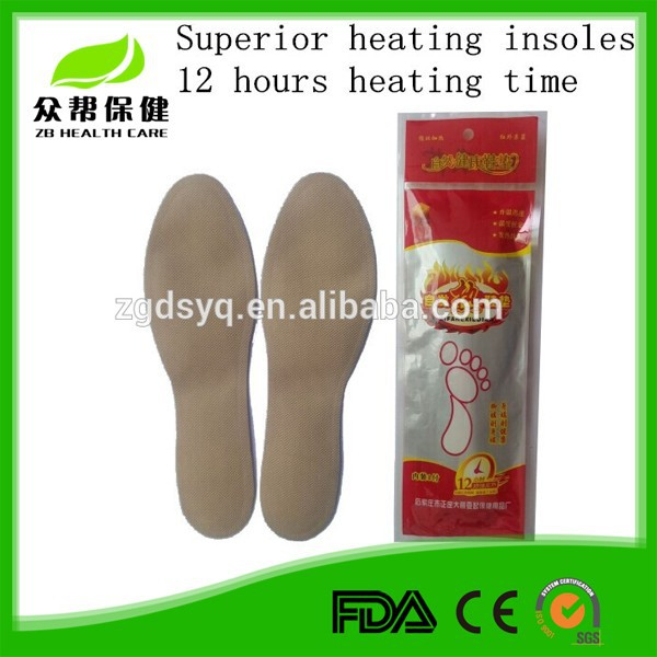 Superior heating shoes pad with long heating time,OEM services