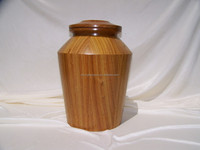 Wooden burial cremation urns for funeral