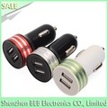 Manufacture car charger for samsung blackberry dual car charger for iphone 7 has low price