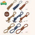 Chewing Tugging Tossing Funny Durable Rope Dog Chew Toy