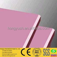 best sell interior wall decoration material fireproof gypsum board