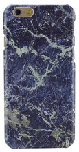 marble design PC materials phone case for Iphone 7/ Iphone 6 in blue color