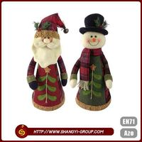 Eco-friendly high quality customized polyester felt Christmas outdoor decorations