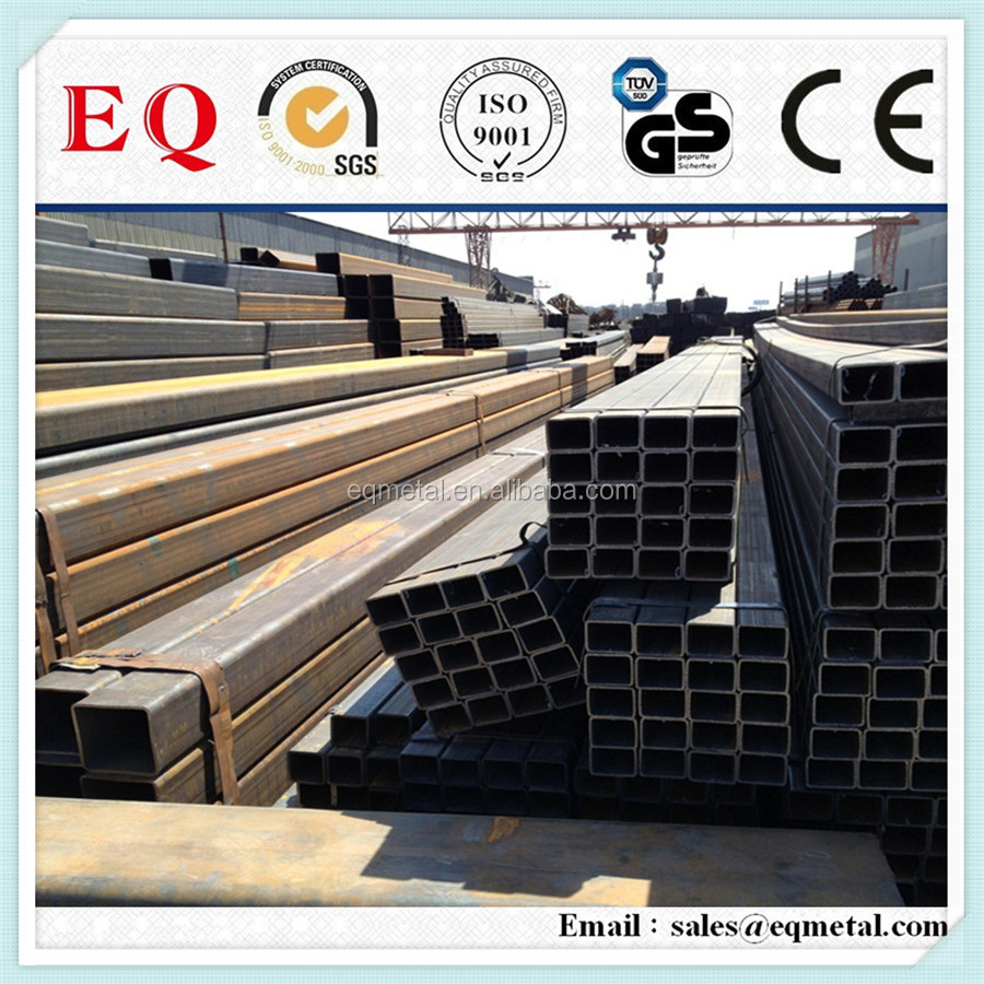 steel square pipe price list steel square tubing square tube hollow bar