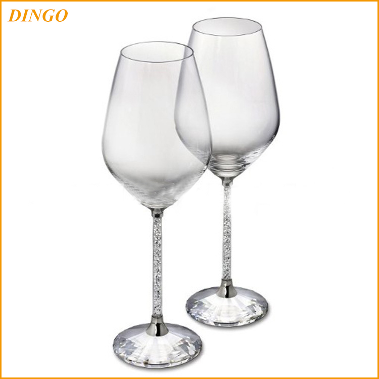 Cylinder Champagne Glass Wedding Toasting Wine Glasses Wholesale Champagne Flutes
