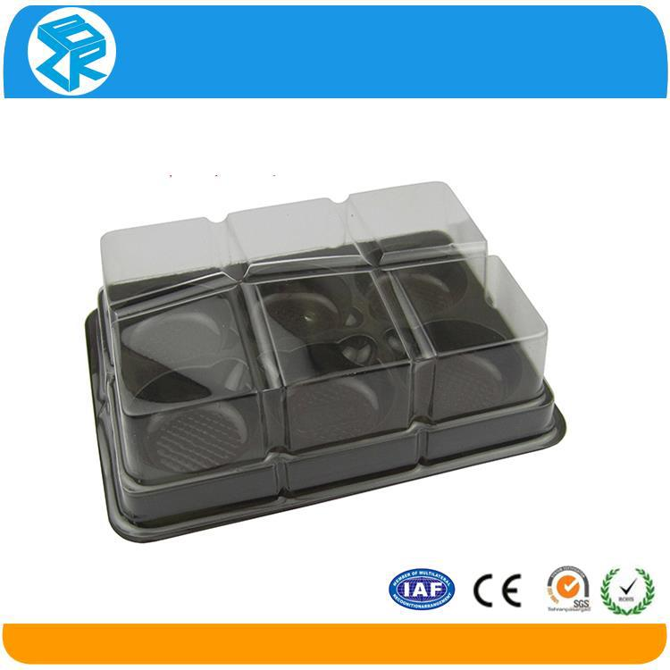 Factory price plastic trays and lids for cake
